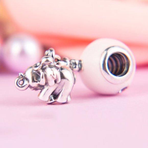 Pandora Pink Balloon Elephant Pendant